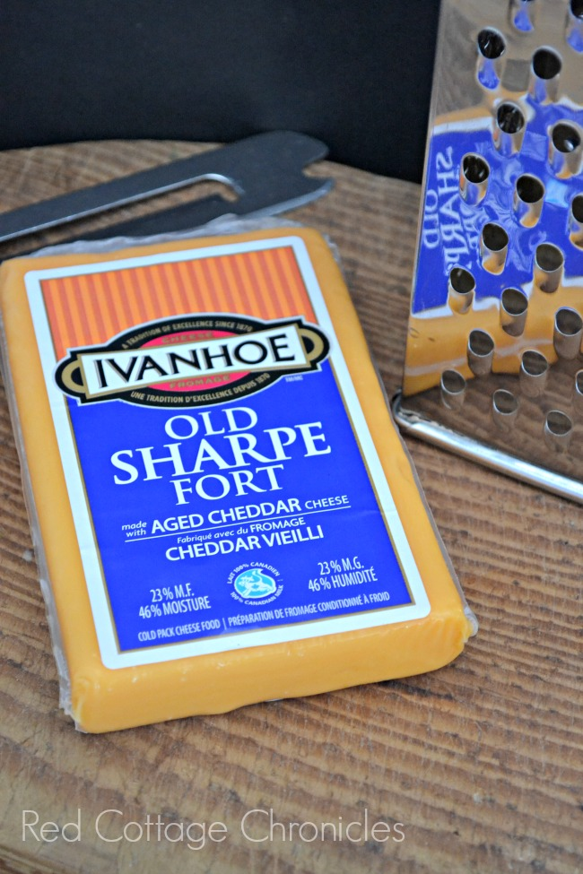 A savory tart made with Ivanhoe Cheese and crispy bacon