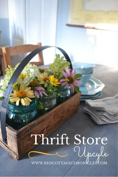Thrift Store Decor Upcycle Challenge – Fixer Upper Style