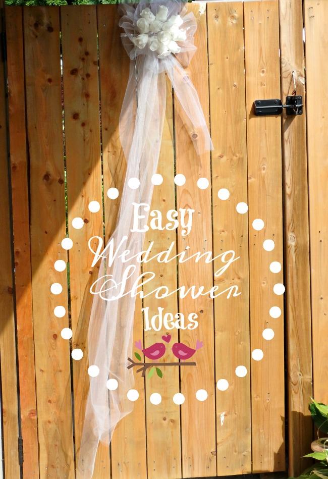 Easy Wedding Shower Ideas