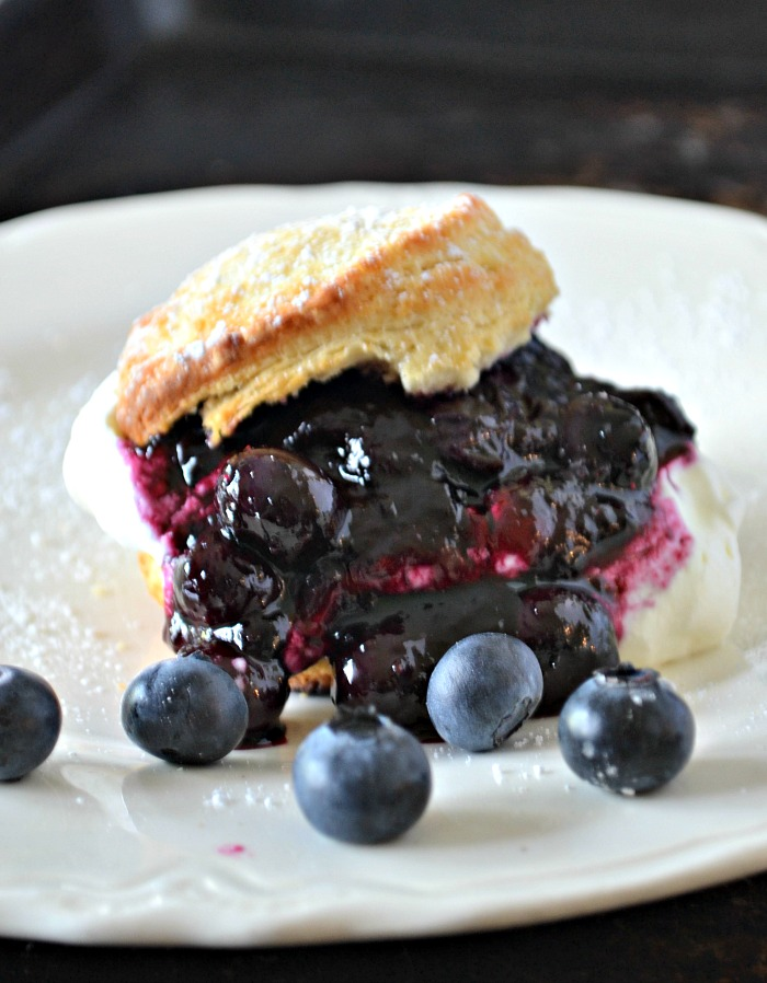 It's blueberry season - Blueberry Shortcake Recipe