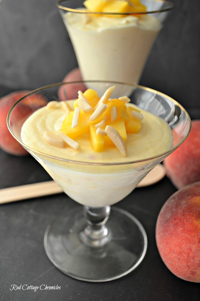 Peach Almond Mousse Farmers Market Week