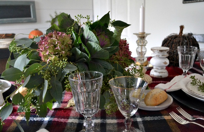 Inexpensive Thanksgiving table setting ideas