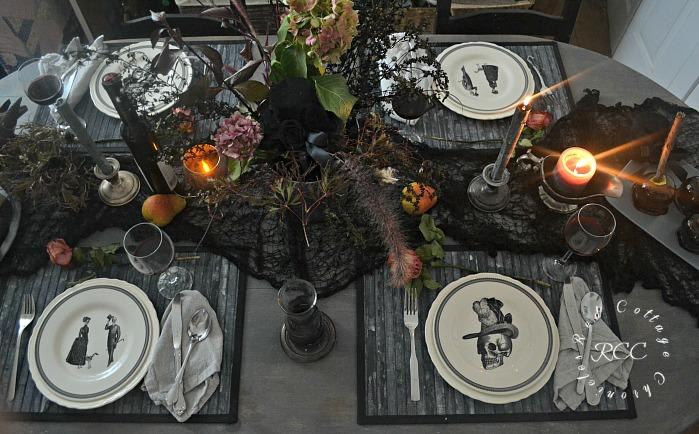 Halloween tablescape ideas
