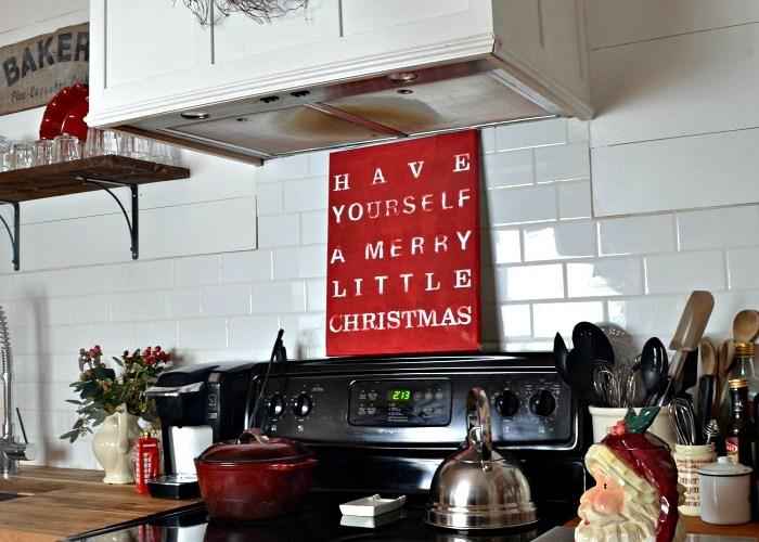 Holiday Home Tour Blog Hop My Christmas Kitchen