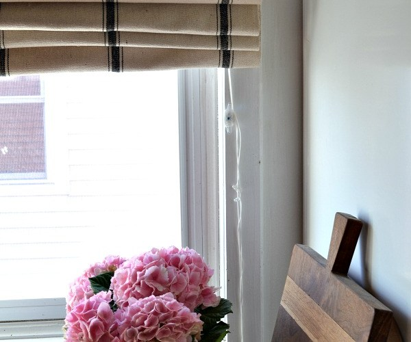 No Sew Roman Shades