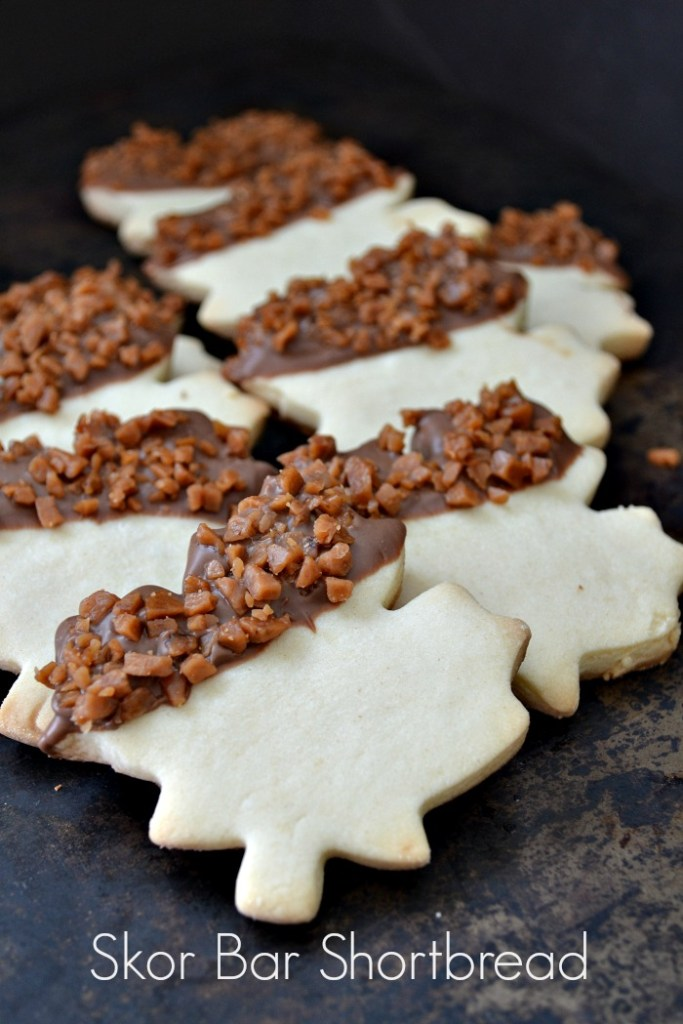 Skor Shortbread Cookies