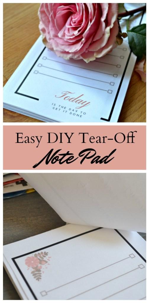 DIY Notepad