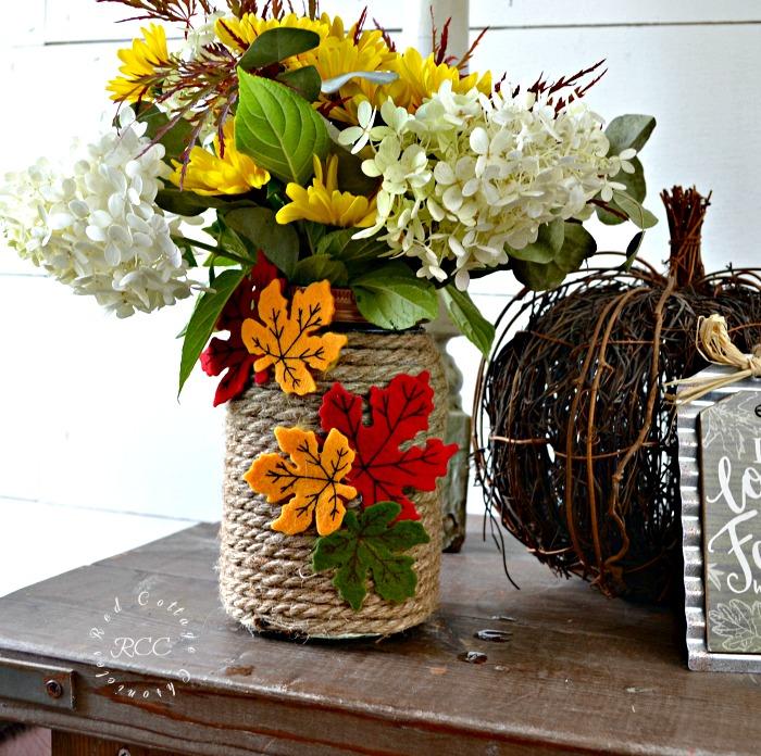 Fall mason jar craft ideas