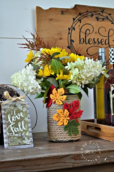 Mason Jar Craft Ideas for Fall