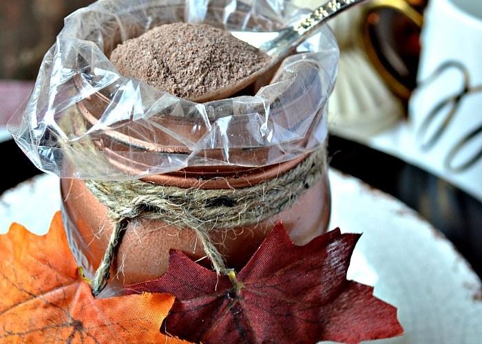 Mason Jar Thanksgiving Favor