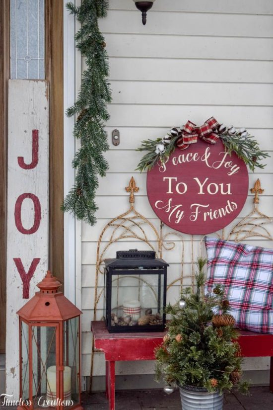 Easy outdoor Christmas decor ideas