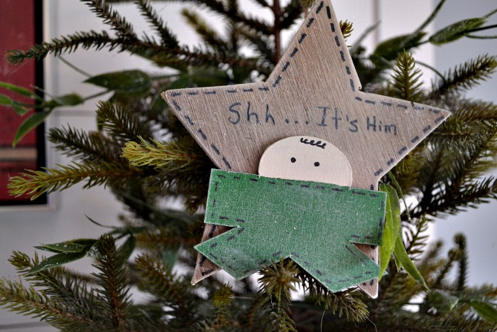 DIY Wood Christmas Ornament