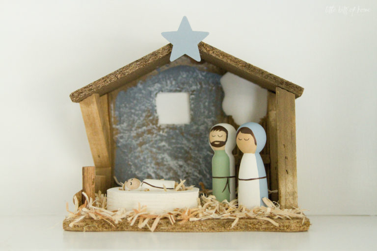 12 DIY Christmas decorations made with wood