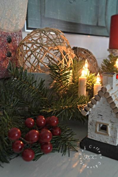 Our Christmas Mantel