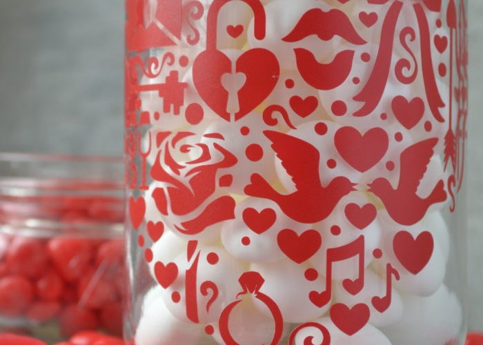 Sweet On You Valentine Treat Jar