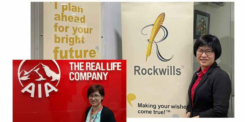 Insurance Trusts AIA Rockwills with Red Cover