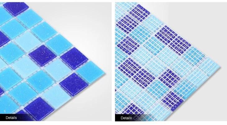 swimming pool tiles backlit hot melting glass mosaic manufacturers suppliers professional factory yueshan enterprise
