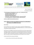 Ecoforestry Forum's letter - pdf file 260 KB