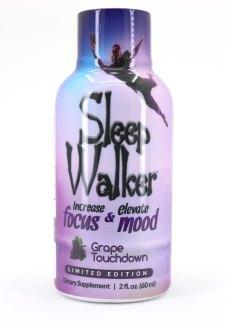 Sleepwalker Shot Grape Touchdown Bottle (Front)