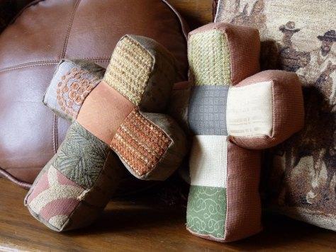 cross pillows