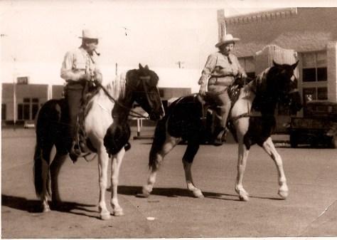 Main Street in Minco, Oklahoma (circa 1950)