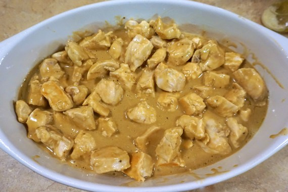 Chicken in Rosemary Ranch Sauce