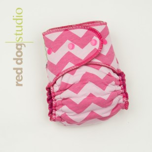 Pink on Pink Chevron