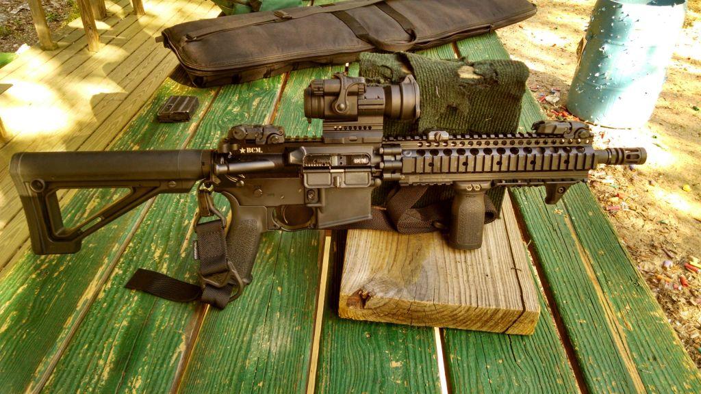 SBR short barreled rifle