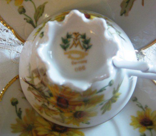 Tea for Two Bavaria manufacturer's mark