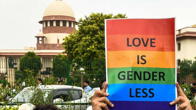 """""""Supreme Court strikes down the draconian provisions of Section 377 IPC criminalizing sexual intercourse between consenting homosexuals. """""""