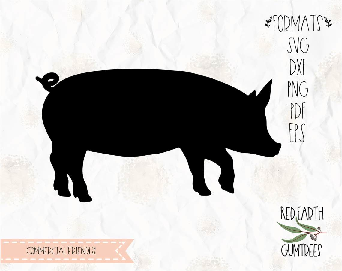 Download Farm Pig, piglet decal, farm animal pig decal, rustic ...