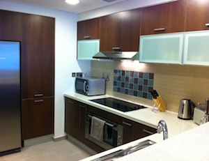 150 Fully equipped kitchen