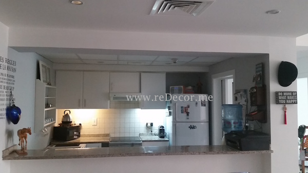 Interior decor Dubai, solutions, consultation, upgrade kitchen, white cabinets