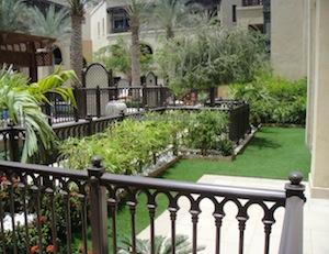 Garden landscaping dubai old town ideas