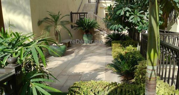 simple gardening dubai, downtown gardens, old town villas