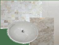 greens bathroom remodelling, modern, marble, walk in shower, storage, design and turn key by erika pace, dubai