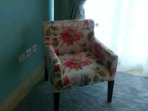 tailor made upholstered chair