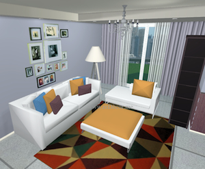3D interior decor ideas