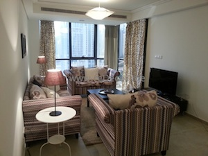 living room interior decor JLT dubai
