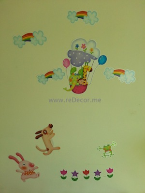 easy and cheap kids room decor