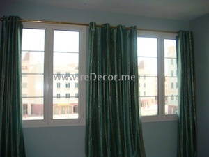 custom made curtains dubai