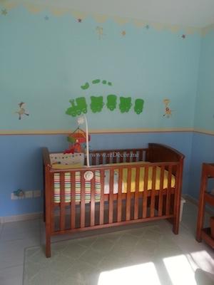 nursery for a baby boy