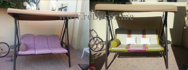 garden furniture makeover upholstery dubai