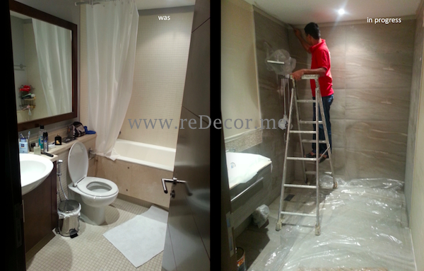2nd bathroom remodelling and reconstruction, design dubai