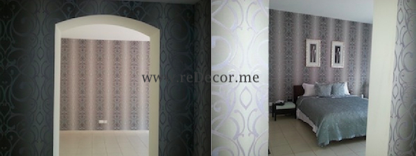 wallpaper interior decor design dubai