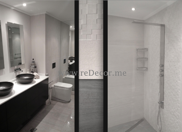 Bathroom design and remodelling dubai southridge interior decor