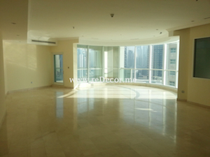 penthouse interior decor in trident waterfront dubai