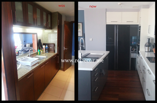 kitchen remodelling was and now Dubai Southridge