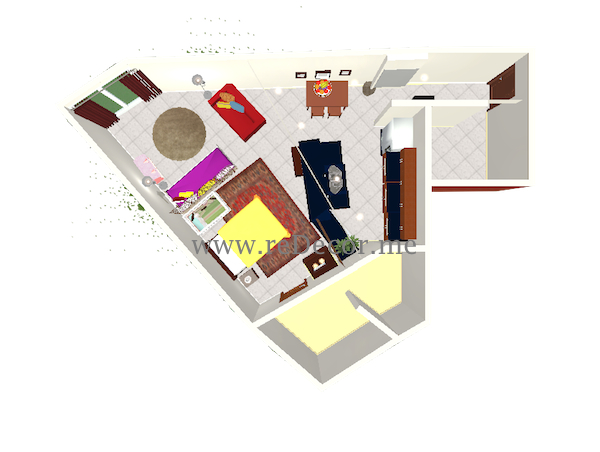 3d floorplan interior decor dubai
