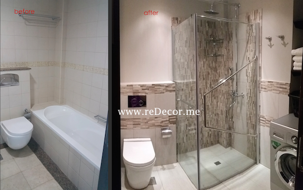 Remodelling Master bathroom in Dubai